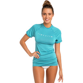 Rip Curl Sunny Rays Relaxed S/S UV Tee Women, light blue